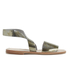 Prism Women's Naxos Ankle Strap Leather Sandals - Rust Metal: Image 1