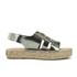 Prism Women's Palawan Tie Front Flatform Sandals - Rust Metal: Image 1