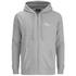 OBEY Clothing Men's Premium Zip Hooded Fleece - Grey: Image 1
