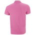 GANT Men's Contrast Collar Pique Polo Shirt - Bubblegum: Image 2