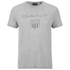GANT Men's Tonal Shield T-Shirt - Light Grey Melange: Image 1