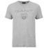 GANT Men's Tonal Shield T-Shirt - Light Grey Melange: Image 1