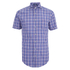 GANT Men's Albatross Cotton Linen Short Sleeve Shirt - Pale Pansy: Image 1