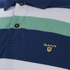 GANT Men's Striped Pique Rugger Polo Shirt - Jelly Green: Image 3