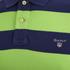GANT Men's Barstripe Pique Rugger Polo Shirt - Jasmine Green: Image 3