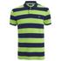 GANT Men's Barstripe Pique Rugger Polo Shirt - Jasmine Green: Image 1