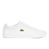 Lacoste Men's Straightset SPT 116 1 Leather Trainers - White: Image 1