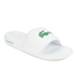 Lacoste Men's Frasier Slide Sandals - White/Green: Image 3