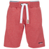 Superdry Men's Orange Label Tri Grit Sweat Shorts - Red Slub: Image 1