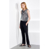 KENZO Women's Sand Silk Sleeveless Top - Antracite: Image 2