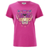 KENZO Women's The Classic Tiger T-Shirt In Light Cotton Jersey - Fuchsia: Image 1