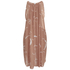 OBEY Clothing Women's Capricorn Dress - Apricot Multi: Image 3