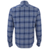 Paul Smith Jeans Men's Tailored Fit Check Shirt - Blue: Image 2