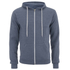 Soul Star Men's Berkley Zip Through Hoody - Airforce Melange: Image 1