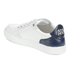 AMI Men's Low Top Trainers - White/ Navy: Image 5