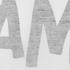 AMI Men's Front Logo Crew T-Shirt - White: Image 3