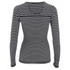 Superdry Women's Super Sewn Skinny Rib Layering T-Shirt - Eclipse Navy: Image 2