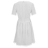 Carven Women's Laser Cut Shift Dress - White: Image 2