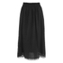 Carven Women's Laser Cut Long Skirt - Black: Image 1