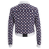 Carven Women's Denim Printed Jacket - Multi: Image 2