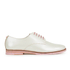 Ted Baker Women's Loomi Patent Leather Oxford Shoes - White: Image 1