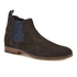 Ted Baker Men's Camroon 4 Suede Chelsea Boots - Dark Brown: Image 2