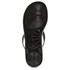 Ted Baker Women's Ettiea Jelly Bow Flip Flops - Black/Cream: Image 3
