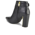 Ted Baker Women's Preiy Leather Heeled Ankle Boots - Black: Image 4