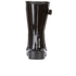 Hunter Women's Original Refined Short Gloss Wellies - Black: Image 3