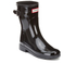Hunter Women's Original Refined Short Gloss Wellies - Black: Image 5