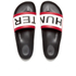Hunter Men's Original Slide Sandals - Black: Image 2