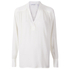 Helmut Lang Women's Jacquard Shirt - White: Image 1