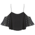 The Fifth Label Women's Sad Song Cold Shoulder Lace Top - Black: Image 3