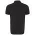 Luke Men's 2 Bob Note Mixed Fabric Polo Shirt - Jet Black: Image 2