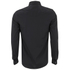 Luke Men's Butchers Pencil Super Slim Tape Detail Long Sleeve Shirt - Black: Image 2