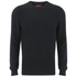 Luke Men's O'Byrne Computer Crew Neck Knitted Jumper - Black: Image 1