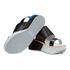 Paul Smith Shoes Women's Bennet Leather Flatform Sandals - Black Charol Patent: Image 6
