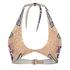 Mara Hoffman Women's Slit Front Halter Bikini Top - Starbasket Stone: Image 1