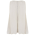 Maison Scotch Womens Sleeveless Top with Embroidery - White: Image 2