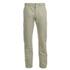 Maison Kitsuné Men's Linen Jay Chino Trousers - Beige: Image 1