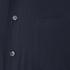 Maison Kitsuné Men's Rib James Long Sleeve Shirt - Dark Navy: Image 3