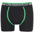 Crosshatch Men's Lightspeed 2-Pack Boxers - Bright Green/Black: Image 4