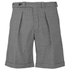 Carven Men's Bermuda Shorts - Black & White: Image 1