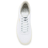 Puma Men's Tennis Star Crafted Leather Low Top Trainers - White: Image 3