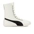 Puma Women's Eskiva Hi Lace-Up Trainers - White/Black: Image 1