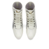 Puma Women's Eskiva Hi Lace-Up Trainers - White/Black: Image 2