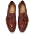 Paul Smith Shoes Men's Conway Leather Tassle Loafers - Tan Dip Dye: Image 2