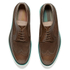 Paul Smith Shoes Men's Grand Suede Brogues - Tan City Soft: Image 2