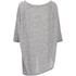 VILA Women's Tabat Oversize Top - Medium Grey Melange: Image 2