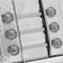 Versus Versace Women's Water Snake Clutch Bag - Silver: Image 3